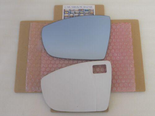 D479L-B BLUE CONVEX Mirror Glass for 2013-16 ESCAPE C-MAX Driver Side Adhesive