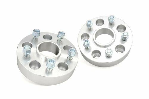 """Rough Country 2/"""" Wheel Spacer fits 2002-2011 Dodge Ram 15005x5.5Pair"""