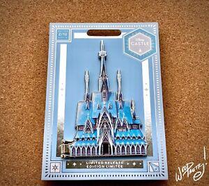 2020-Disney-Limited-Release-Arendelle-Frozen-Castle-Jumbo-Hinge-4-5-034-Pin-NWT