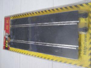 Slot Car SCX Scalextric Rettilineo per pista 84060 1:32 2 pezzi Boxed