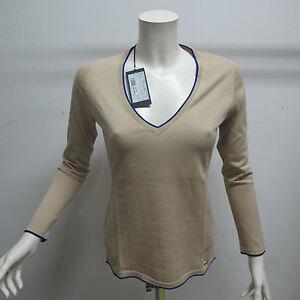 HARMONT-amp-BLAINE-maglione-cotone-donna-art-HB32501-col-BEIGE-tg-XL-estate-2012