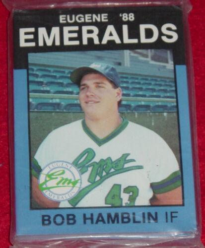 Best Cards 1988 Eugene Emeralds Minor League Complete Team Card Set