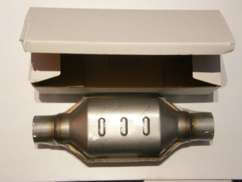 """Metal High Flow Catalytic Converter 2 1//2/"""" Inch 300 Cell 63mm"""