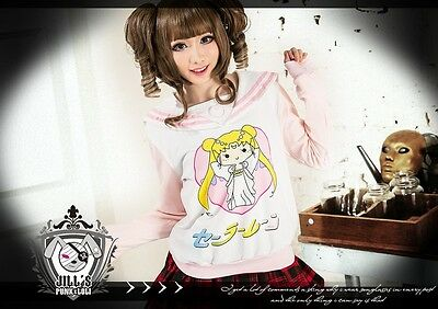 japan lolita cartoon sailor moon empress serenity sailor uniform tee JN0039 P