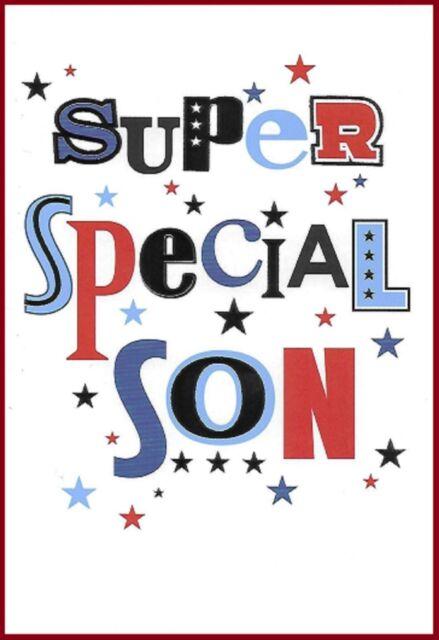 Son Birthday Card Super Special Simon Elvin Word Play Ebay