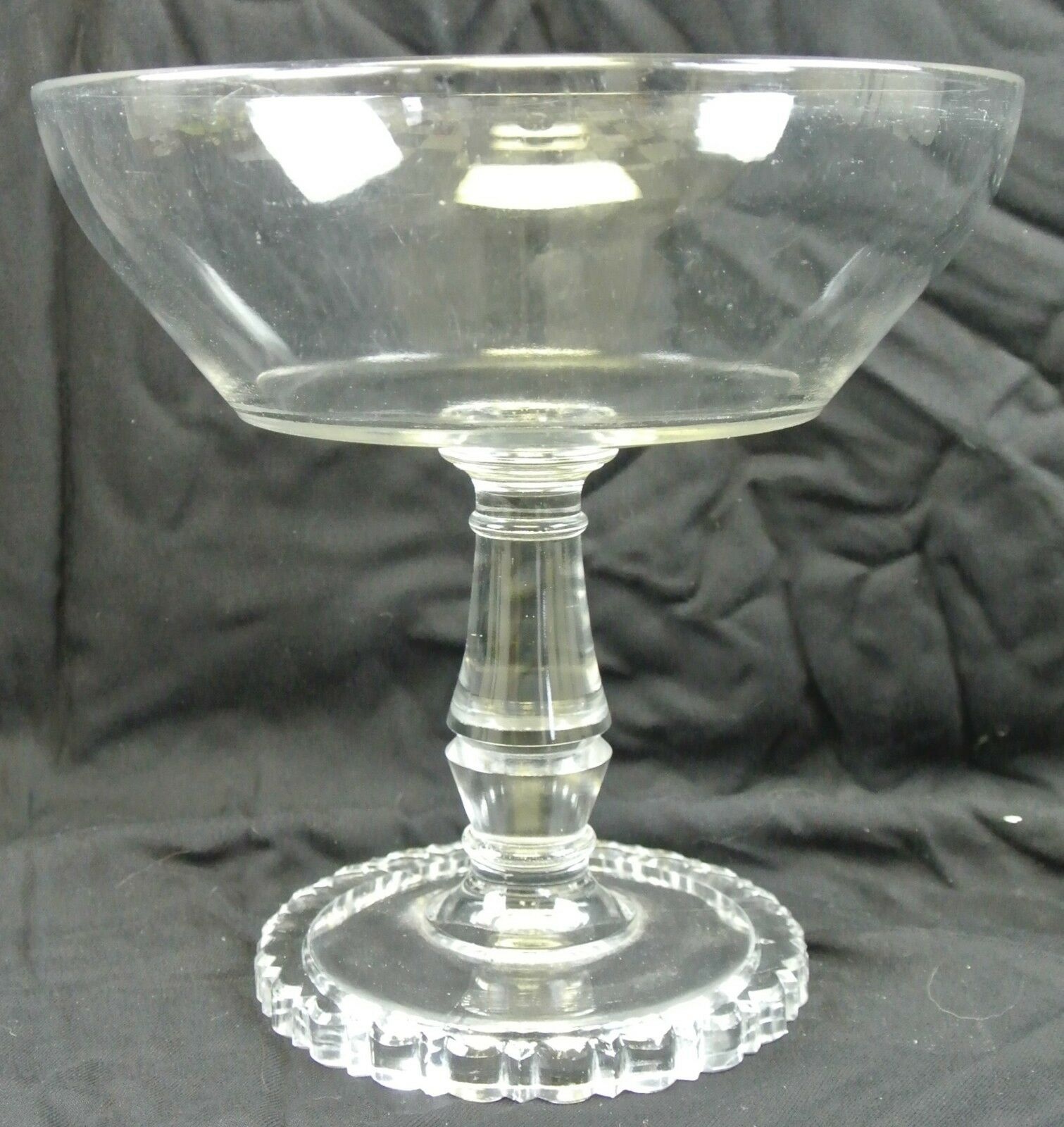 Antique Compote Early American Pattern Glass
