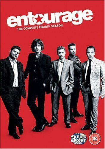 1 of 1 - Entourage: Complete HBO Season 4 [DVD] [2008] By Jeremy Piven,Adrian Grenier.