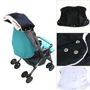 Warm-Baby-Stroller-Windproof-Gloves-Pushchair-Waterproof-Thick-Fleece-Hand-Muff