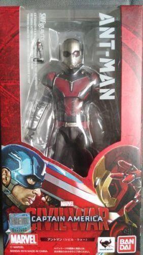 Bandai S.H. FIGUARTS SHF Marvel Capitán América de la guerra civil Ant-Man Figura De Acción