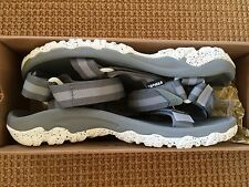 Teva Hurricane XLT Stripe Neutral Gray Sandals Mens Size 8 *NEW*