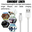 miniature 8 - 10FT Braided Micro USB Charger Cable Data Sync Charger Cord Android Samsung LG