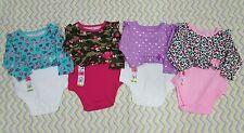 NWT Garanimals infant girl onesies lot 3-6 months