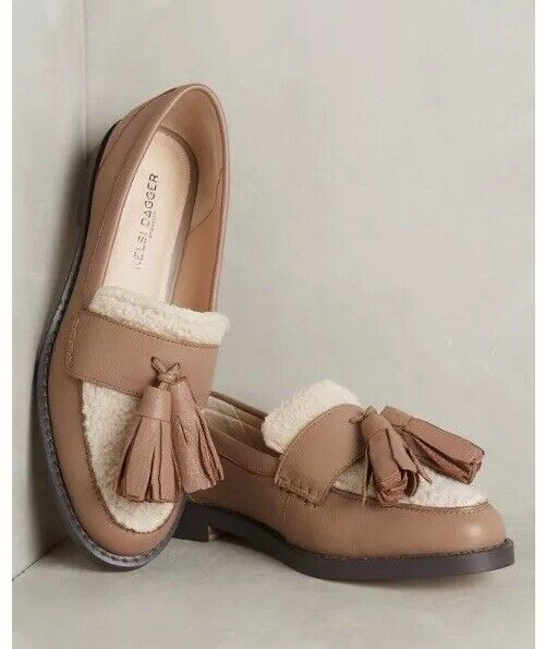 Anthropologie Kelsi Dagger Brooklyn Gwen Kiltie Loafers chaussures 8.5