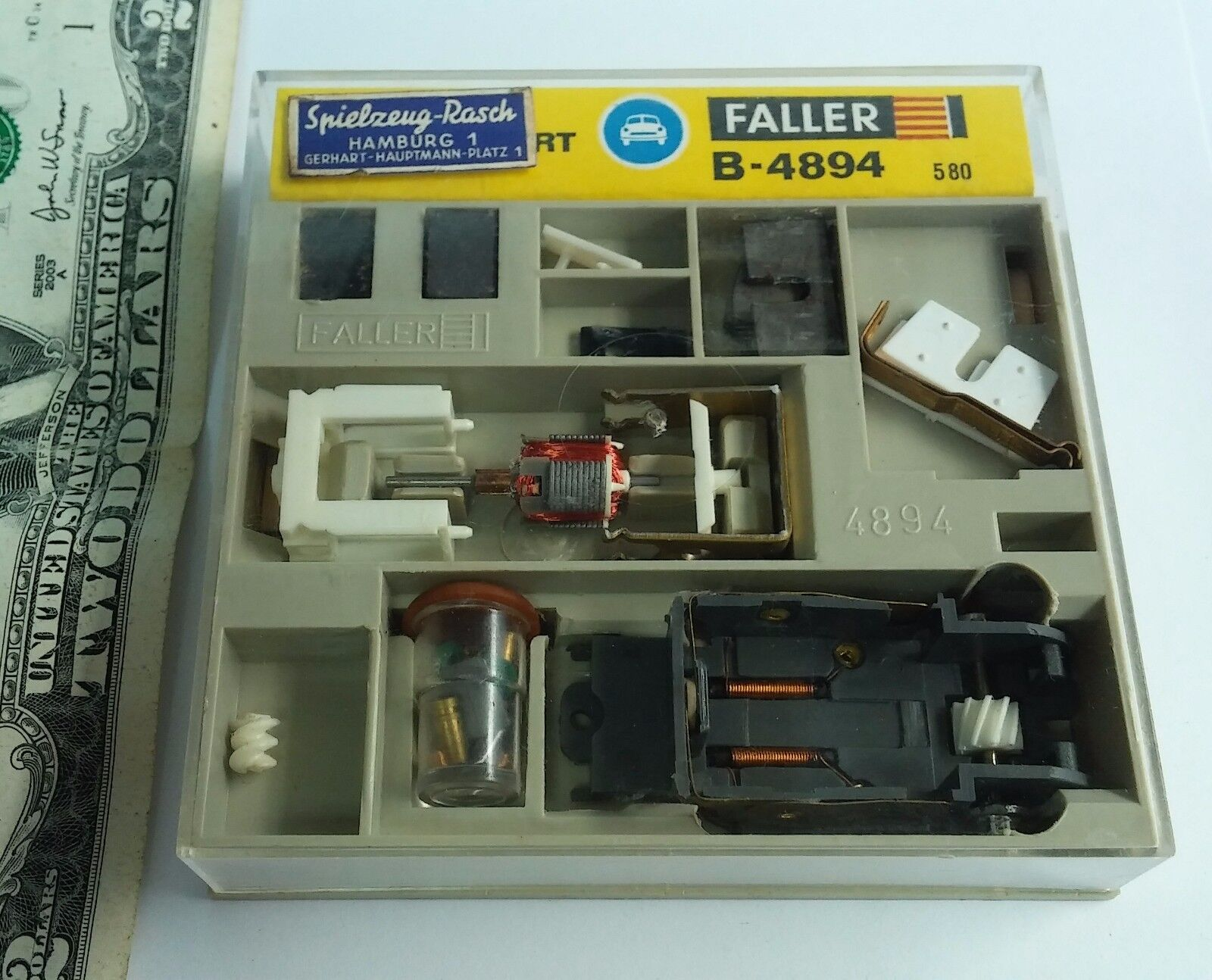 a la venta Antiguo Antiguo Antiguo Faller Coche B-4894 Motor Sport Spielzeug Rasch modelo nos Unopened  moda clasica