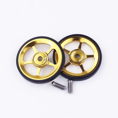 2pcs Alloy Wheels Easywheel Titanium Bolts For Brompton Bike Super Light