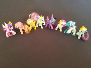 Complete Set 2014 Mcdonalds Happy Meal My Little Pony Rainbow Power Toys Ebay