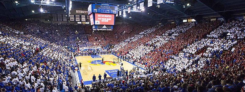 LA Lafayette Ragin Cajuns at Kansas Jayhawks Basketball