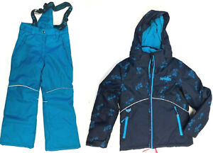 a73985012 BNWT XMTN Boy s Youth 2 Piece Blue Navy Floral Snow Suit Size XL-18 ...