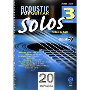 Langer: ACOUSTIC POP GUITAR SOLOS 3 CD! Spielbuch Gitarre 9783868492705 - Tirschenreuth, Deutschland - Langer: ACOUSTIC POP GUITAR SOLOS 3 CD! Spielbuch Gitarre 9783868492705 - Tirschenreuth, Deutschland
