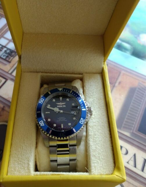 Invicta Men's 90940B Pro Diver Automatic 40mm Stainless Steel Case Blue Dial