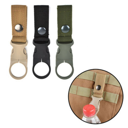 Water Bottle Buckle Hook Holder Belt-Clip Carabiner For Camping Hiking Parts