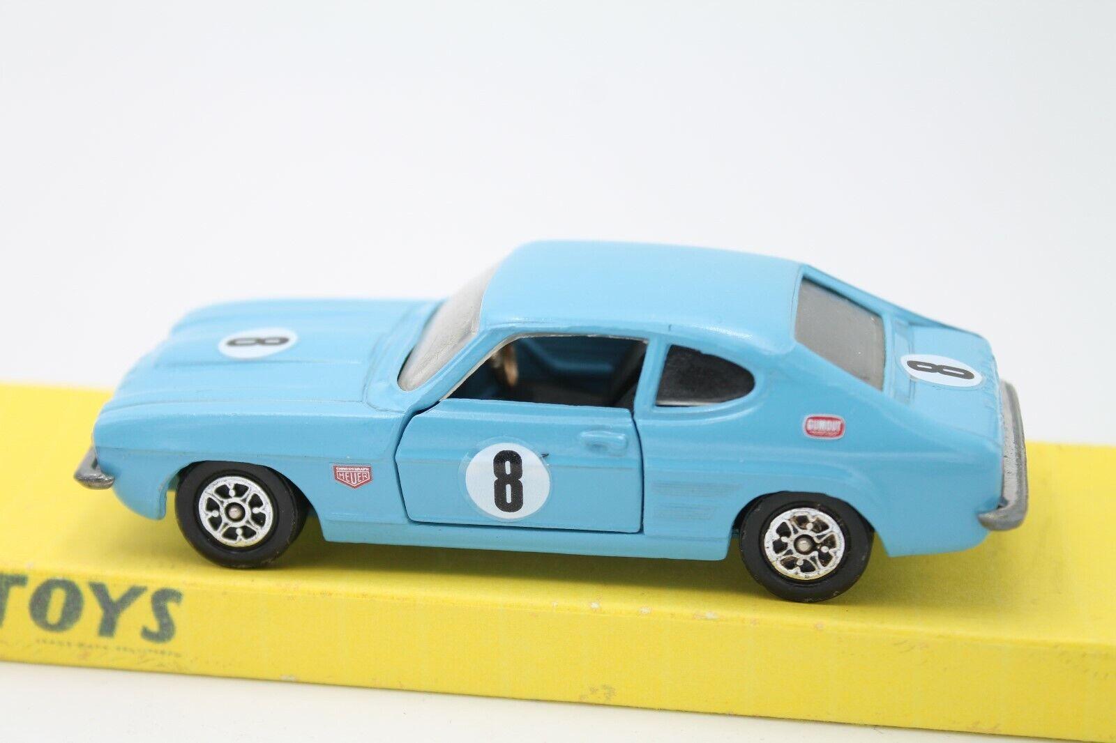 mas barato Corgi Corgi Corgi Juguetes  Ford Capri 3l Rally  1 43  azul  forma única
