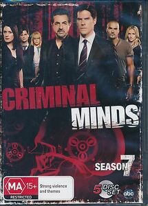 Criminal-Minds-Season-7-Seven-DVD-NEW-Region-4-Joe-Mantegna-Thomas-Gibson