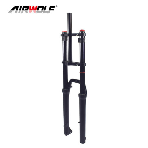 "26er*4.0/"" Full Air Suspension Fat Bike Fork Snow Sand Beach MTB Bicycle Forks"