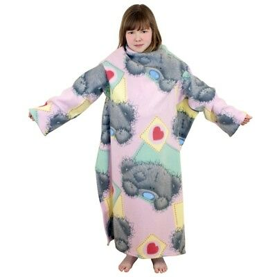 Me To You Vintage Cosy Snuggle Wrap Blanket Sleeved