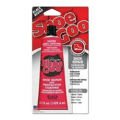 NEW 110212 Shoe Goo Black 3.7oz Adhesive Glue for Leather Vinyl Rubber