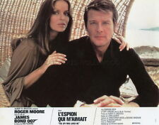 JAMES BOND 007 BARBARA BACH ROGER MOORE THE SPY WHO LOVED ME 1977 LOBBY CARD #2