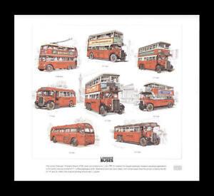 Old-London-Buses-LTL-Q-LT-NS-T-ST-Trolleybus-Art-Print