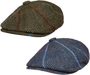 Homme baker garçon casquette newsboy pays plat caps patraque oeillères chapeau en bleu ou vert
