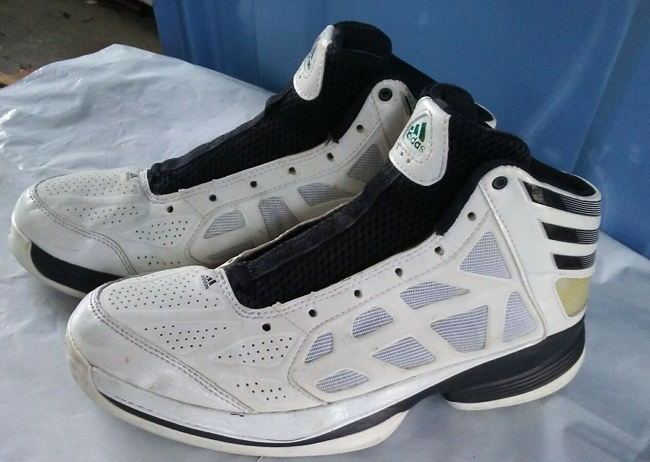 Adidas Sprint Web Men's Basketball Shoes Black/white Comfortable The latest discount shoes for men and women