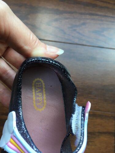 Girls Unicorn Jelly Shoes Size 7//25