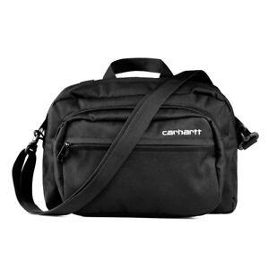 Carhartt-Payton-Shoulder-Bag-Black-Schwarz-Umhaengetasche-Neu-I025414