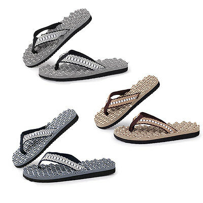 2016 Summer Men Fashion Casual Flips Flops Slippers Massage Beach Shoes Sandals