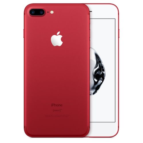 Apple iPhone 7 PLUS 128GB (제품) RED-Special Edition-USA 모델 - 보증