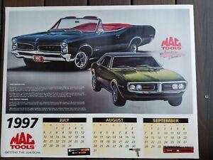 1997  MAC Tools Color Poster Pontiac GTO Firebird