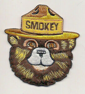 Smokey the Bear 75th Year Preventing Forest Fires Souvenir 2019 Patch