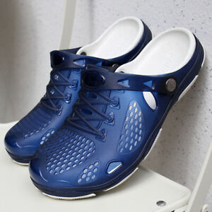 Sandals-Mens-Shoes-Summer-Clogs-Men-039-s-Beach-Outdoor-Men-Slippers-Big-Size-40-45