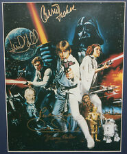Star Wars Signed: Mark Hamill, Carrie Fisher, Mayhew, Baker & Daniels Autographs