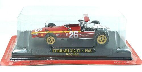 M0312 modellino auto F1  COLLECTION 1:43-1968 Ferrari 312 F1 #26 Ickx