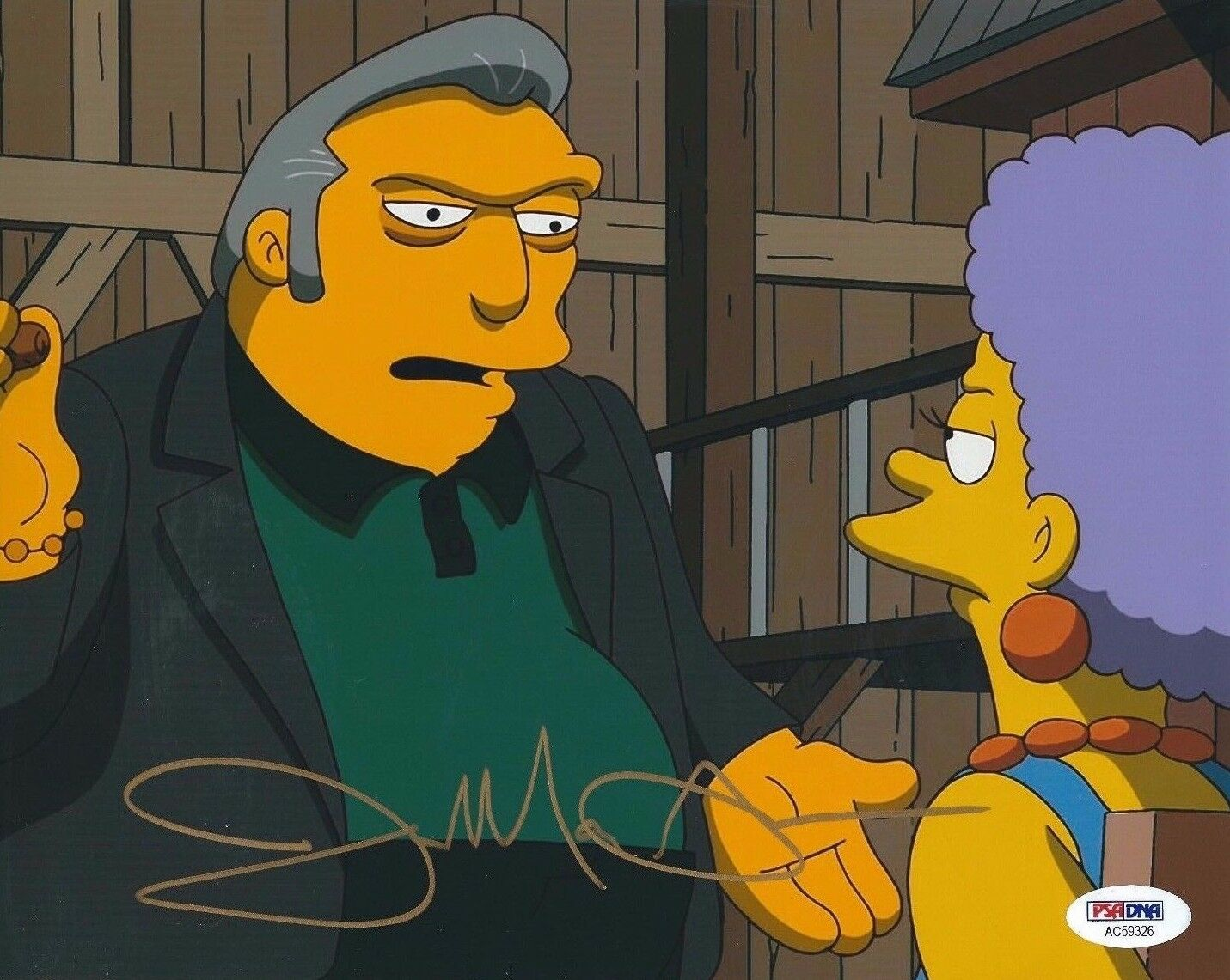Joe Mantegna Signed 8x10 Photo *Simpsons PSA AC59326