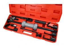 13pc Dent Puller Set 10lb Steel Slide Hammer Heavy Duty Puller