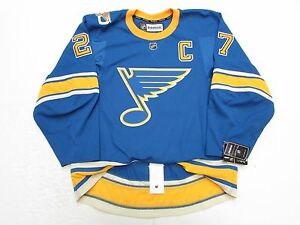the latest 1b5b9 7cc90 Details about PIETRANGELO ST. LOUIS BLUES THIRD 50th ANNIVERSARY REEBOK  EDGE 2.0 7287 JERSEY