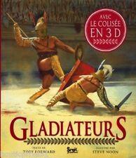 Coffret / livre/ jeux enfant - neuf sous blister - Gladiateurs
