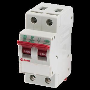 Makel Sicherungsautomat B-Typ 2-polig 25A Bemessungsstrom Leitungsschutzschalter