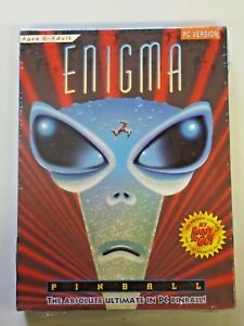 """Enigma Pinball Game PC Version 3.5"""" Diskette IBM/Tandy or Compatible 1994 NEW"""