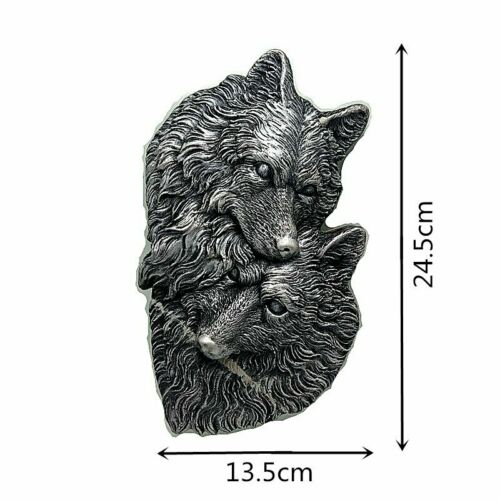 Silicone Cake Mould Wolf Pack Head Baking Mold Chocolate Decorating 3D Tool DIY